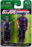 G.I. Joe 2004 A Real American Hero Valor Versus Venom 4 Inch Action Figure : Tele-Viper with Hi-Tech Communication Helmet, Radio, Backpack, Pistol with Silencer and Supressed Sub-Machine Gun