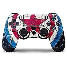 Elton PS4 Controller Designer 3M Skin For Sony PlayStation 4 , PS4 Slim , Ps4 Pro DualShock Remote Wireless Controller (set Of Two Controllers Skin) - Captain America Shield