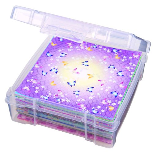 ArtBin Essentials Storage Box-6 by 6-Inch Clear Storage Container, 6953AB