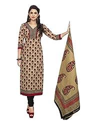 AASRI Party Wear Pure Cotton 3 Piece Unstitched Salwar Suit 321