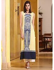 Fashion Galleria Women's Semi-stitched Straight Kurti