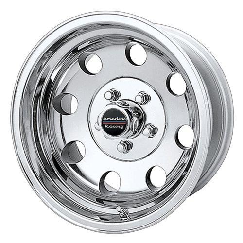 American Racing Custom Wheels AR172 Baja Polished Wheel (15×7″/5x127mm, -6mm offset)