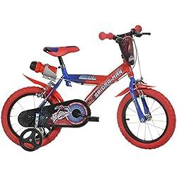 Dino Bikes 14-inch Spider Man