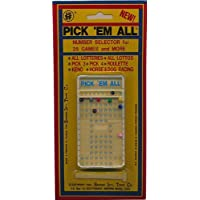 Pickem ALL Number Selector For Powerball Lottery Games And More