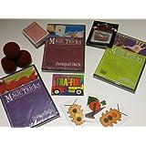 Amazing Easy To Learn Magic Tricks: Spongeball Magic Dvd, Pro Brand Bridge Size Svengali Deck With Dvd, Magic...