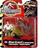 Jurassic Park III Dr. Alan Grant with Velociraptor by Jurassic Park