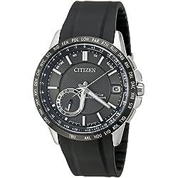 Citizen Men's CC3005-00E Satellite Wave Analog Display Japanese Quartz Black Watch