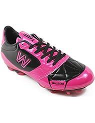 Walstar Girls Soccer Shoe Cleat Toddler Little Kid Big Kid