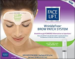 Amazon.com : Face Lift, Wrinkle Free Brow Patch System, 1 ...