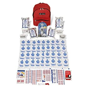 Emergency Preparedness Kit - Lasts Up to 12 Days - Includes Emergency Radio - Exceeds Red Cross & Fema Guidelines for All Disasters