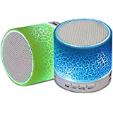 Apple IPhone 5S COMPATIBLE Mini Bluetooth Wireless Speaker (S10)/Portable Audio Player Play Audio From TF Card...