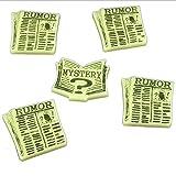 Cthulhu, Rumor & Mystery Token Set, Ivory (5)