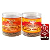 Chocholik Dry Fruits - Almonds Tandoori Masala & Lemon Pepper With 3d Mobile Cover For IPhone 6 - Diwali Gifts...