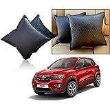 Car Vastra Cushion Pillow Set Black Color For Car & Home For - Renault Kwid