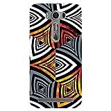 Kaira Brand Designer Hard Back Case Cover For Asus Zenfone 2 Laser (Zebra) - 5.0 Inch