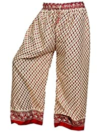 Women's Cotton Harem Pants Afghani Trousers - B06XVFQ3P5