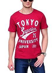 Yepme Men's Graphic Cotton T-shirt - B00O33RXM8