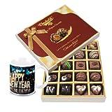 Grand Celebration Gift Box With New Year Mug - Chocholik Belgium Chocolates