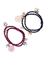 Super Drool Charms Thin Elastic Rubber Bands(Set Of 2) - B00Z9PIRK6