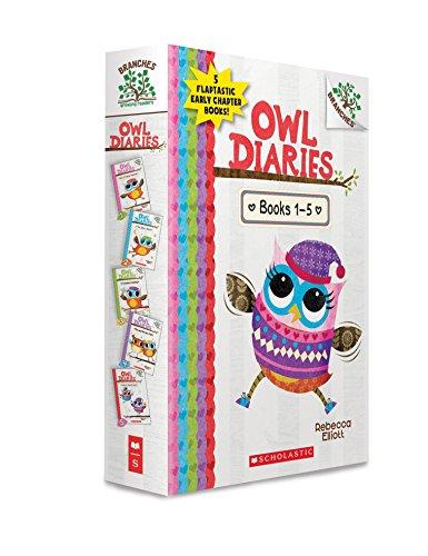 Owl Diaries Boxed Set, Books 1-5
