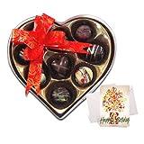 Fine Exclusive Chocolates Gift Box With Birthday Card - Chocholik Belgium Chocolates