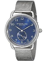 Stuhrling Original Analog Blue Dial Men's Watch - 207M.03