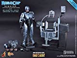 RoboCop Movie Masterpiece Diecast Robocop 1:6 Collectible Figure [Mechanical Chair version] (Hot Toys)