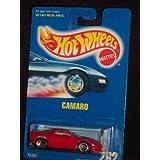 #262 Camaro Red Tan Interior 5-spoke Wheels Collectible Collector Car Mattel Hot Wheels 1:64 Scale