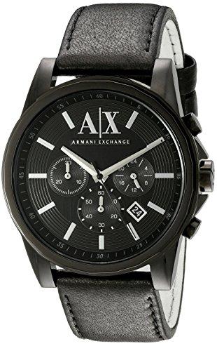 Armani Exchange Men's AX2098 Analog Display Analog Quartz Bl