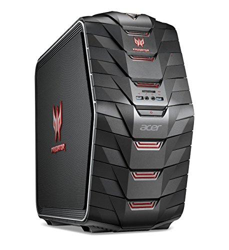 Acer Predator G6-710 4GHz i7-6700K Negro - Ordenador de sobremesa (i7-6700K, 64 bits, HDD+SSD, Intel Core i7-6xxx, Blu-Ray RW, Negro)