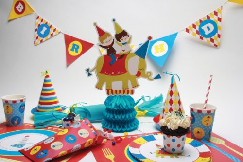 Party Partners Design Big Top Circus Elephant Themed 8