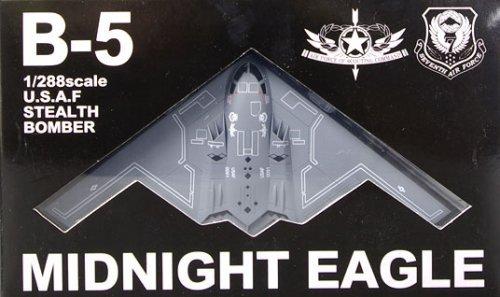 Movie Midnight Eagle stealth bomber B-5 Plastic Painted (japan import)