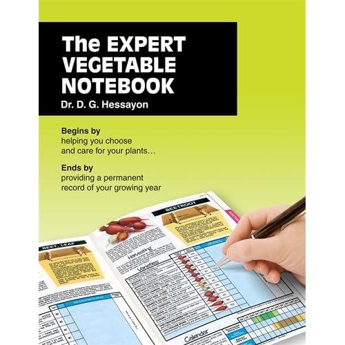 Expert Vegetable Notebook Hessayon, D.G.