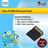 Class 6 CBSE Premium Pack Course In Memory Card