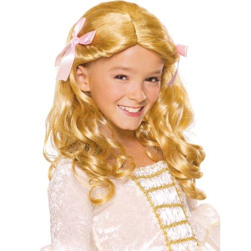 Rubies Child's Gracious Princess Blonde Costume Wig