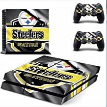 Elton Pittsburgh Steele's Theme 3M Skin Decal VinylSticker For PS4 Playstation 4 Console & 2 Controllers