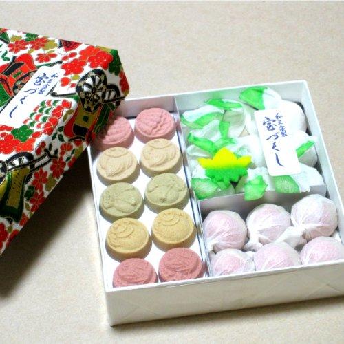 和三盆糖 干菓子 【宝づくし】 (5箱)