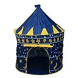 CellDeal Outdoor Pop Up Princess Castle Play Tent Blue