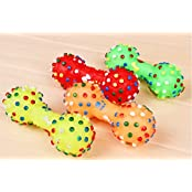 Yosoo Lovely Pet Dog Puppy Cat Chews Toy Squeaker Squeaky Sound Play Toys Color By Random