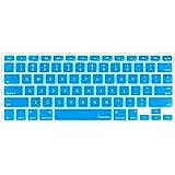 "Pashay Keyboard Skin For Apple Macbook Air/Pro/Retina 13.3"" & 15.4"" -Sky Blue"