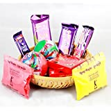 Cadbury Dairy Milk Assorted Chocolate Hamper For Holi (Gift Hamper 01)