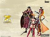<Soul web, Limited production> Figuarts ZERO ONE PIECE FILM Z battle clothes Ver. Set (Zoro Robin Brook) (japan import)