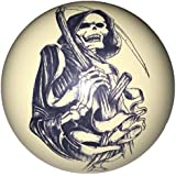 Grim Reaper Cue Ball Custom For Pool Players By D L Billiards