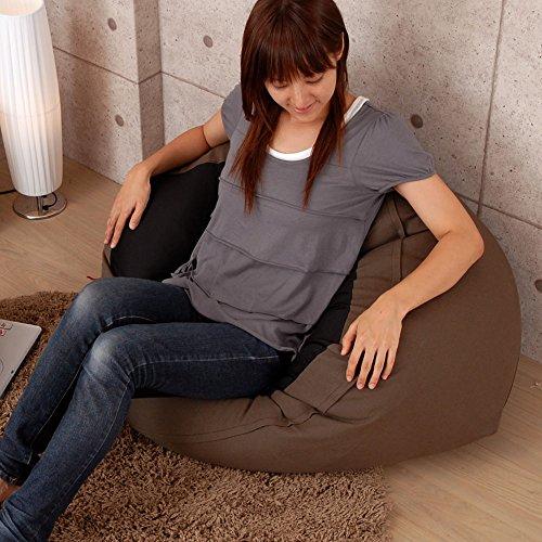 ビーズクッション 座椅子 抱き枕 マイクロ ビーズ クッション ソファ キューブ ソファー カバー ビター