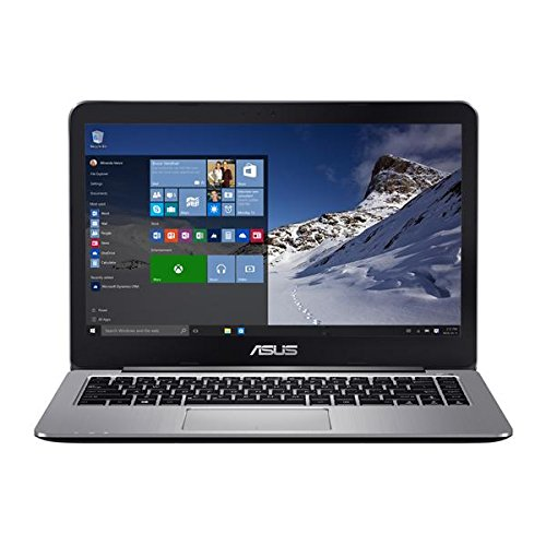 ASUS VivoBook E403SA-US21 14-inch Full HD Laptop (Intel Quad-Core N3700 Processor, 4 GB DDR3 RAM, 128GB eMMC Storage, Windows 10...