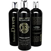 Dave S Premium Sulfate Free Hair Conditioner, 16 Oz. Dry And Damaged Treatment With Organic Natural Argan Oil,...