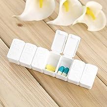 Banggood 7 Days Tablet Pill Box Travel Emergency First Aid Kits Weekly Medicine Storage Organizer Pills Container...