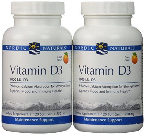 Nordic Naturals - Vitamin D-3, 1000 IU - 240 softgels