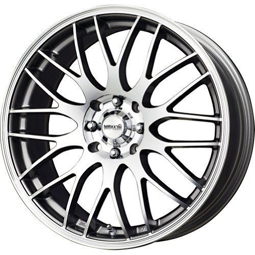 Maxxim Maze Silver Wheel with Machined Face (17×7″/5x110mm)