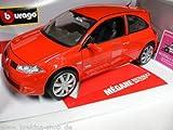 Renault Megane Sport Diecast Model 1/18 Blue